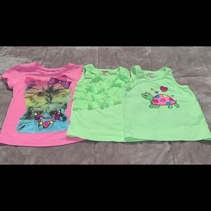 EUC Garanimals Summer Tank Top Shirt Lot 24m